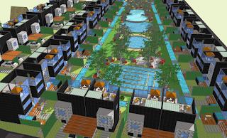 Desain Kawasan Villa Jepara