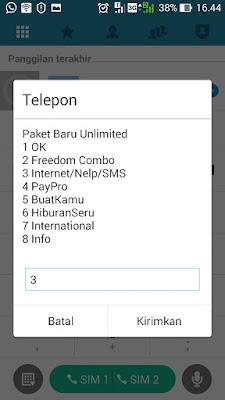 Cara Paket Nelpon Indosat Ooredoo Bulanan Terbaru 2018