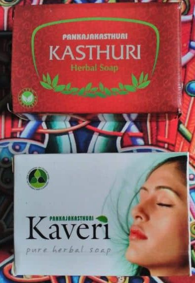 Pankajakasthuri Kasthuri Herbal soap & Pankajakasturi Kaveri Herbal Soap