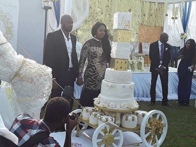 Checkout Ateke Tom's Daughter's Great Wedding Cake