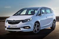 Opel Zafira (2017) Front Side
