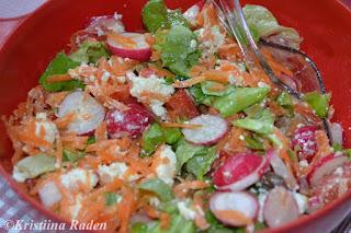 Carrot-bellpepper salad