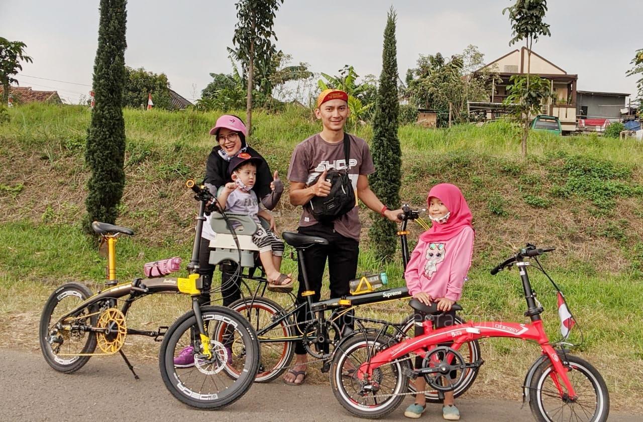 Beberapa Tips Bersepeda bareng keluarga