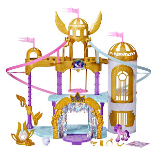 My Little Pony: A New Generation Movie Royal Racing Ziplines, 22-Inch Castle Playset