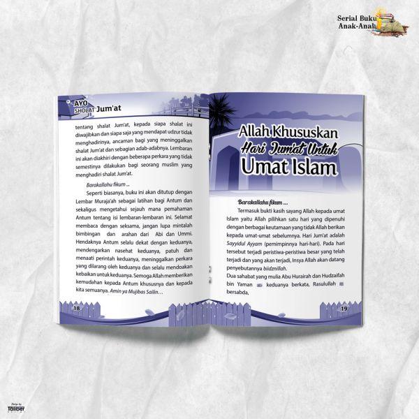 Buku Ayo Shalat Jumat Pustaka Al Humaira