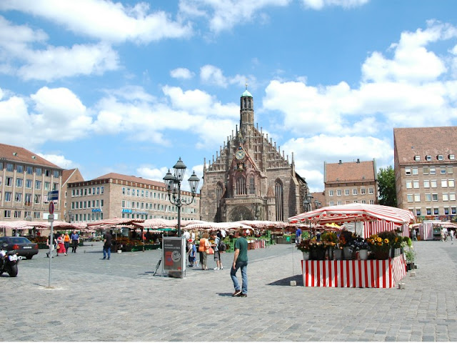 Praça Markplatz em Munique