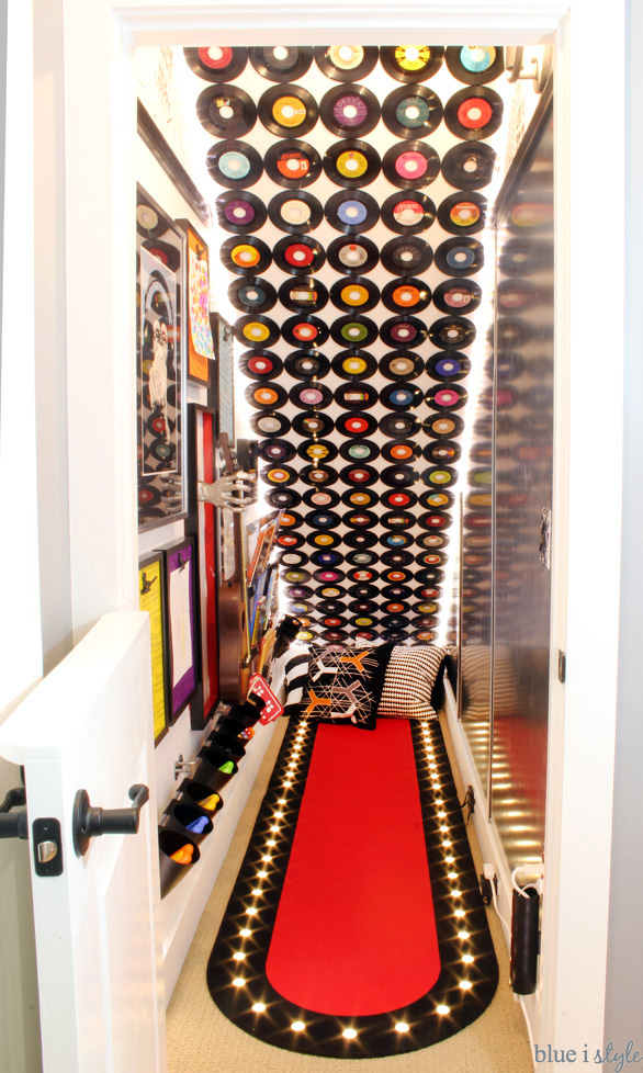 Under Stair Rock & Roll Playroom