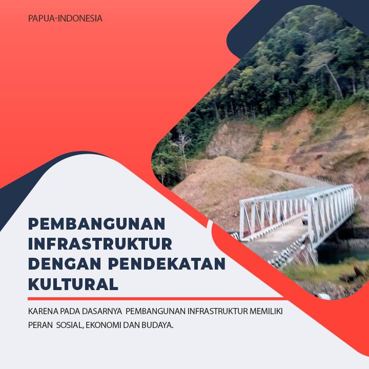 Pembangunan Infrastruktur Papua dengan Pendekatan Kultural