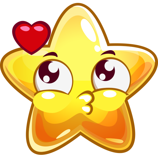 Star and Heart Icon