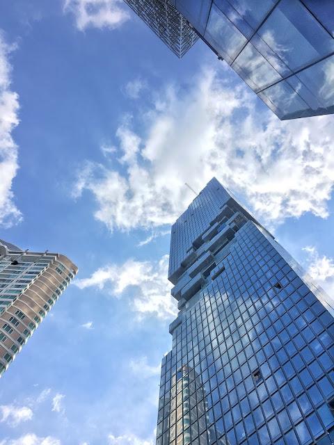 ritz carlton bangkok, silom, sathorn, mahanakhon cube, tallest building thailand, nejvyšší budova thajsko