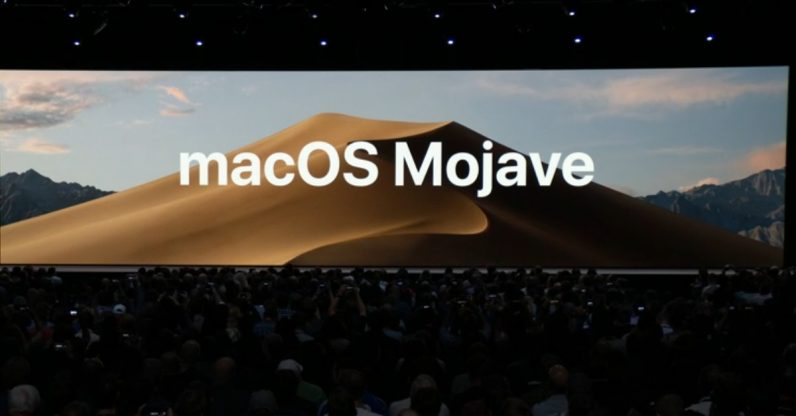 ApplemacOS-Mojave