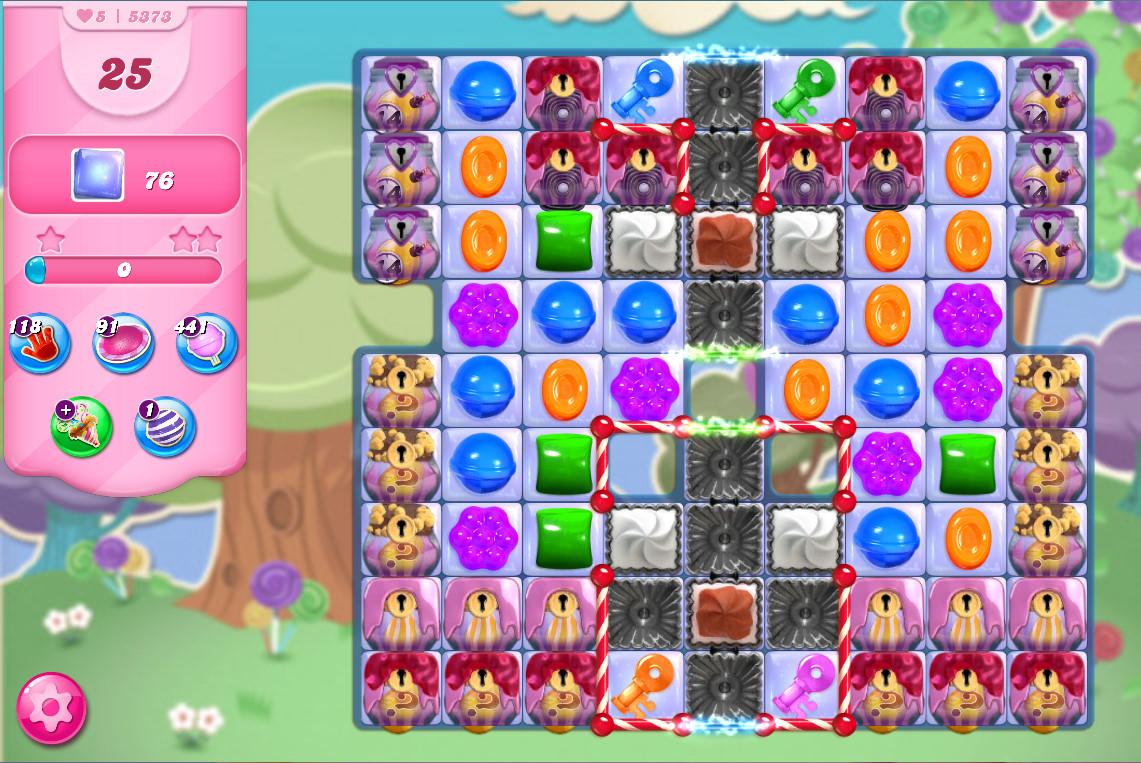Candy Crush Saga level 5378