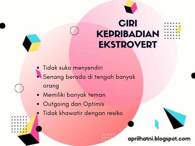 ciri kepribadian ekstrovert