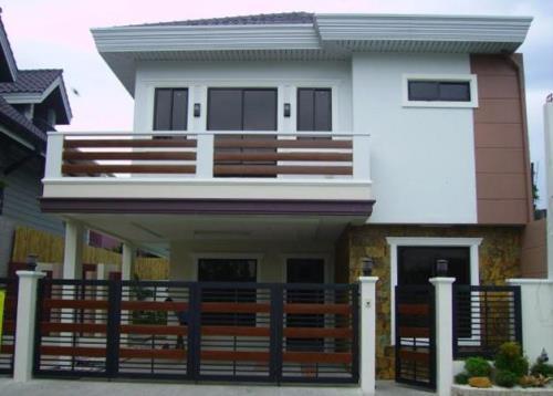 Saat ini banyak orang yang ingin mempunyai rumah minimalis sederhana Rumah Minimalis 2 Lantai Sederhana