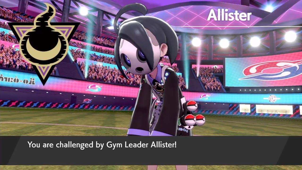 Gym leader Allister