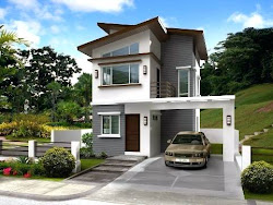Two Story Simple Modern House Design 9