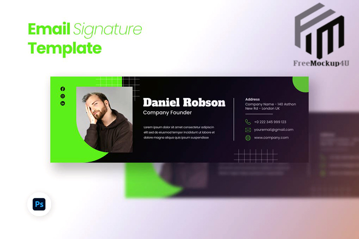 Email Signature Template Elements