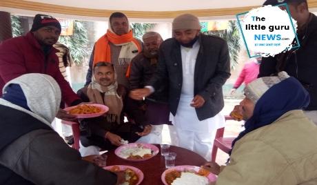 पिपरा विधायक के द्वारा मकरसंक्रांति पर दही चिउड़ा भोज का आयोजन