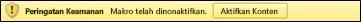 Contoh file yang menggunakan macro vba