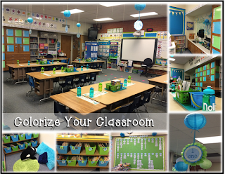 Classroom decor and more! Customize your classroom with a color scheme.