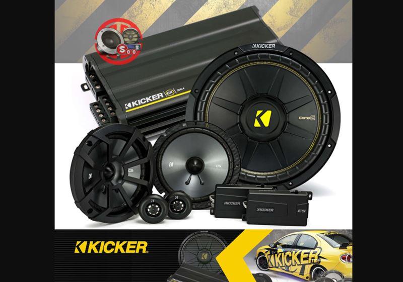 kicker speaker mobil