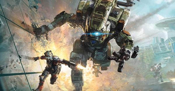 tembakan dengan sudut pandang orang pertama Info Spesifikasi Titanfall 2 (EA)