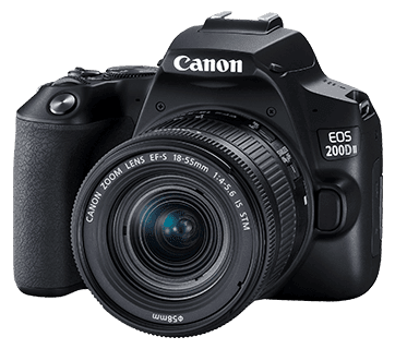Review Canon EOS 200D II (EF-S 18-55mm f/4-5.6 IS STM)