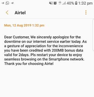 Airtel Gives Out Free 200MB
