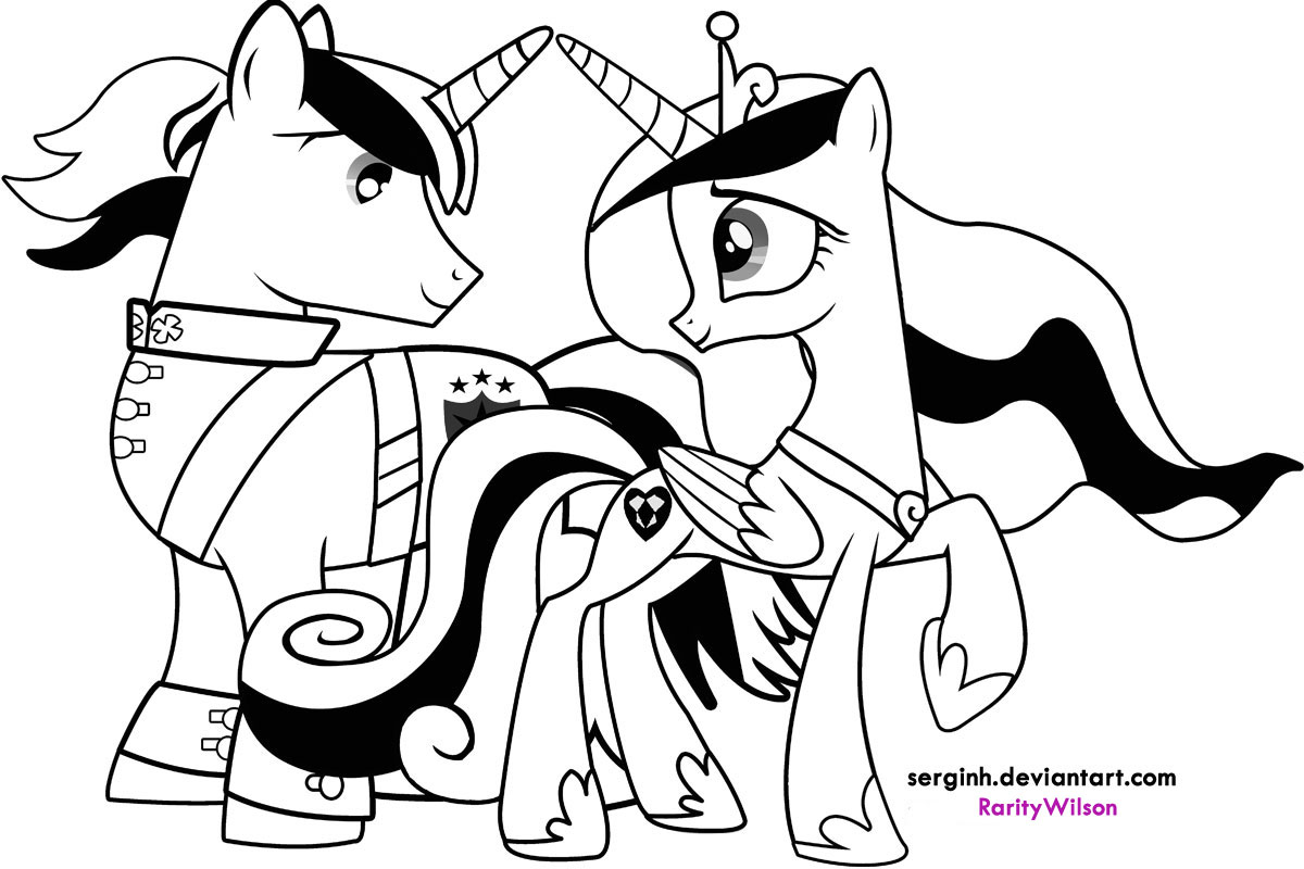 My Little Pony Coloring Pages Friendship Is Magic