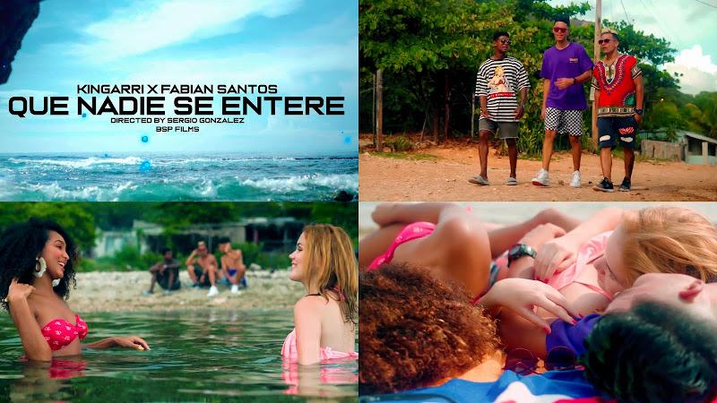 Kingarri & Fabian Santos - ¨Que nadie se entere¨ - Videoclip - Director: BSP Films. Portal Del Vídeo Clip Cubano