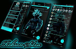 Goku Black Blue Theme For YOWhatsApp & Fouad WhatsApp By Robsson