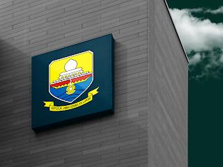 desain papan nama logo provinsi jambi - kanalmu
