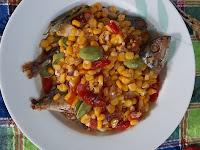 Masak Sehat, Lezat dan Hemat Tumis Jagung Ikan Peda