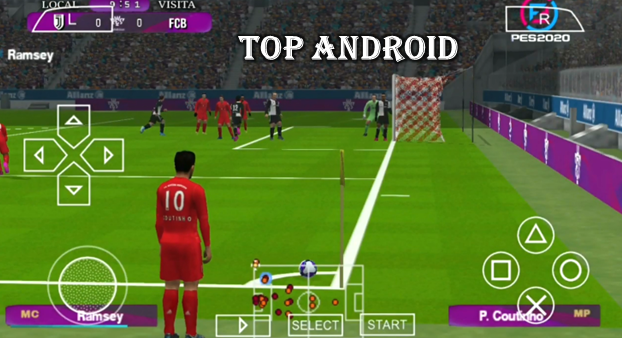 PES 2020 PPSSPP Camera PS4 Android Offline 400MB