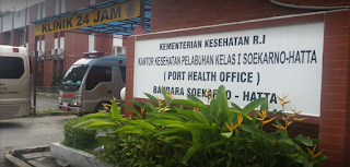 Peta Lokasi, Alamat dan Nomer Telepon Suntik Meningitis di KKP Sukarno-Hatta, Area Perkantoran Bandara Soekarno Hatta, Pajang, Benda, Tangerang