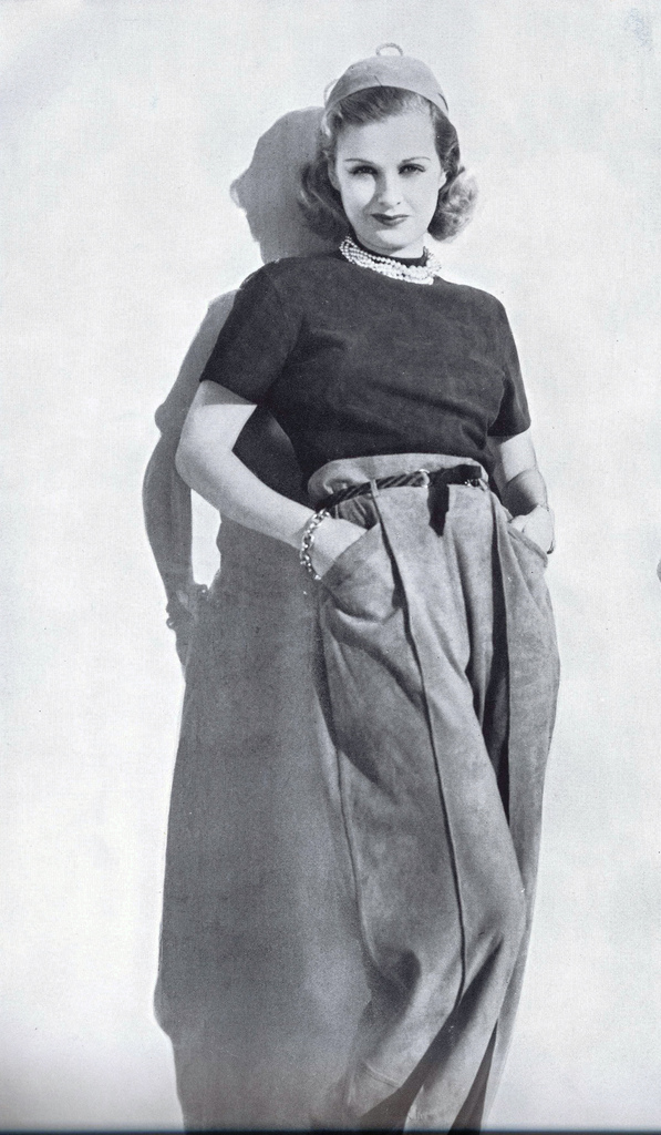 c15e58c5c The Truth About Real Women s 1940s Pants ~ American Duchess