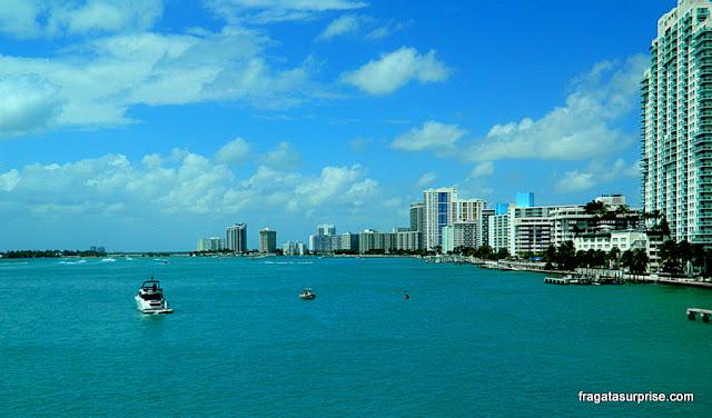 Miami vista do MacArthur Causeway