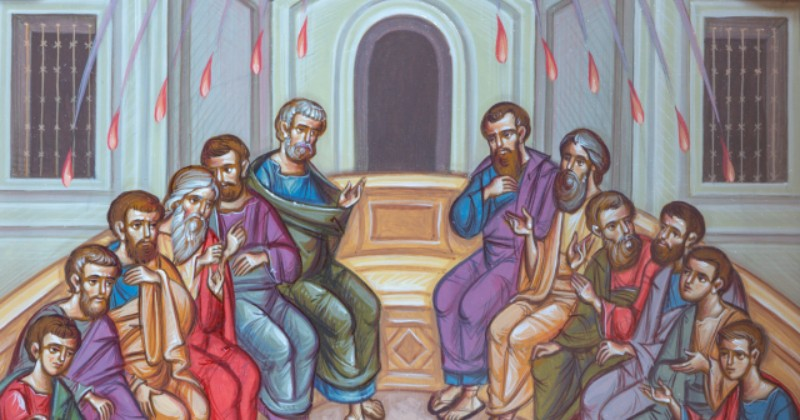 Di Mana Tempat Para Rasul Menerima Roh Kudus pada Hari Pentakosta?