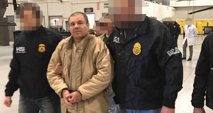 """Se aplaza hasta septiembre el inicio del juicio contra """"El Chapo"""" Guzmán"""