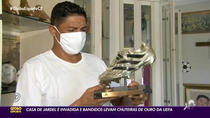 Casa do ex-atacante Jardel é invadida em Fortaleza; prêmios pessoais são levados