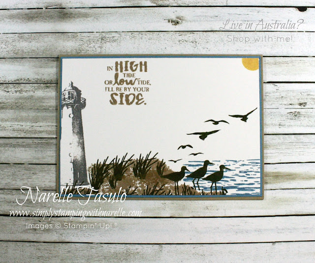 Create the most amazing male cards with the High Tide stamp set - get yours here - http://bit.ly/2nSlOyd
