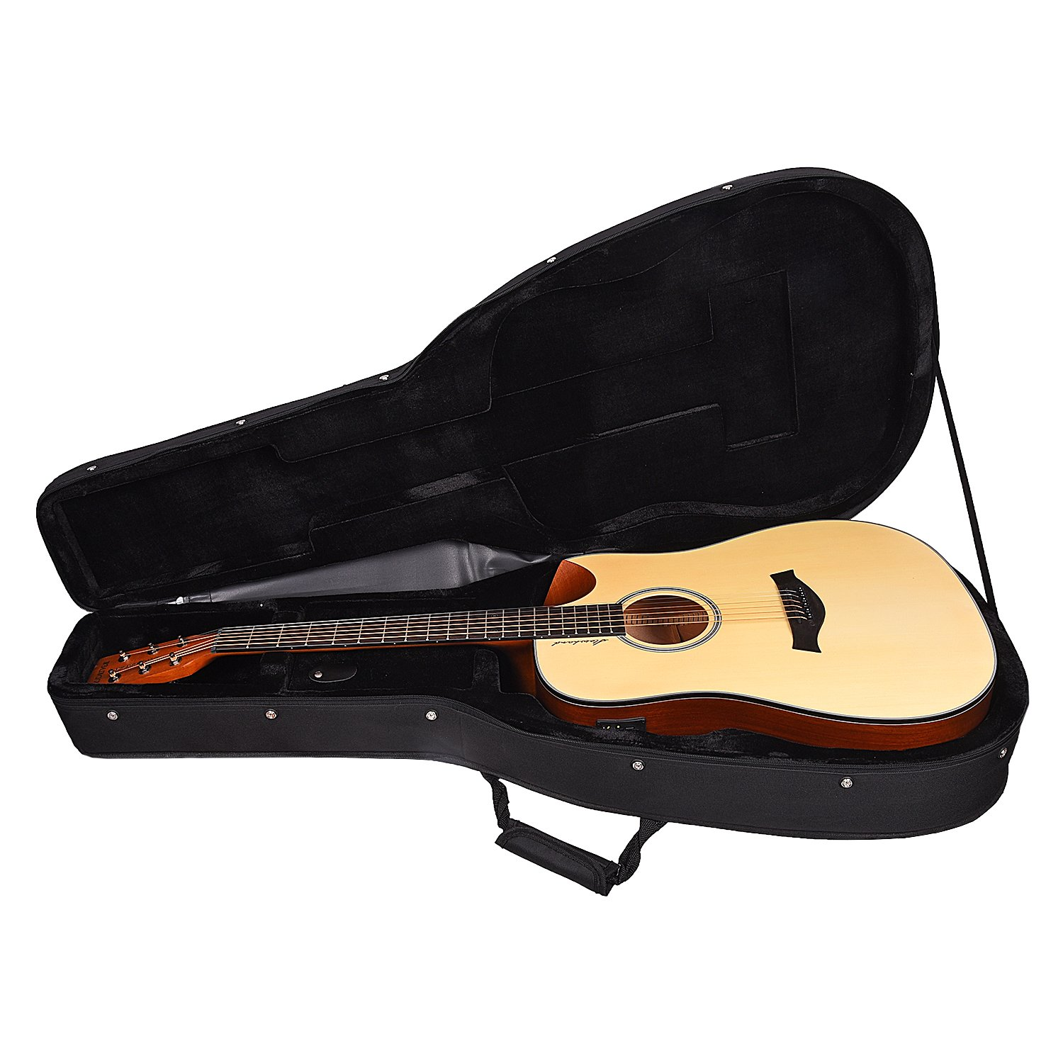 Kadence Slowhand Series Premium Acoustic Guitar, Spruce Top with Hard Case SH-01