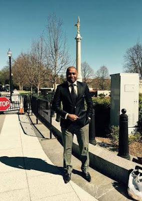 Nigeria actor Kenneth Okonkwo's visit America White House in Washington  DC