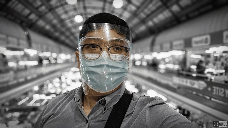 Selfie camera portrait mode - color point