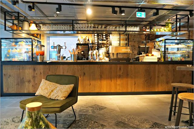 Cafetería de La Place en Amsterdam