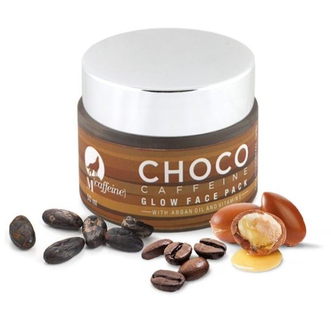 MCAFFEINE CHOCO CAFFEINE GLOW FACE PACK REVIEW
