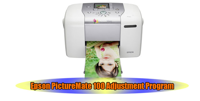 Epson PictureMate 100 Printer Adjustment Program