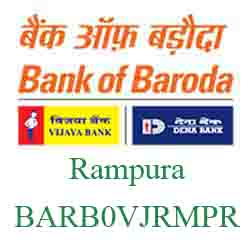 Vijaya Baroda Bank Rampura Branch New IFSC, MICR