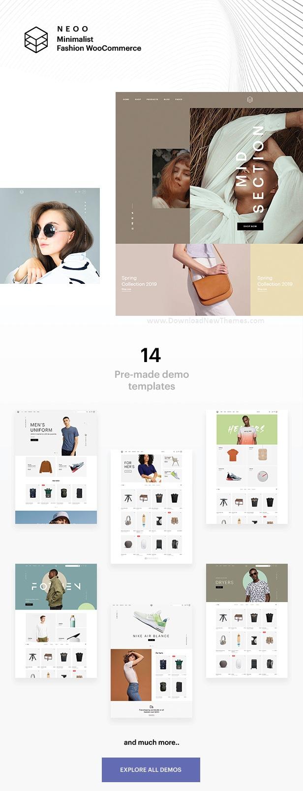 Flexible WooCommerce theme