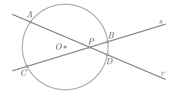 Teorema de Pitágoras baseado na potência de um ponto - Figura 4